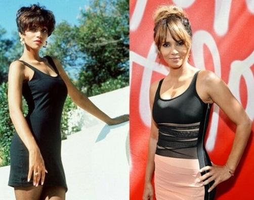 Halle Berry w wieku 27 i 50 lat