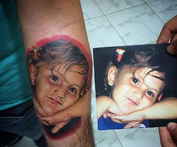 Ten tatuaż wyszedł niesamowicie